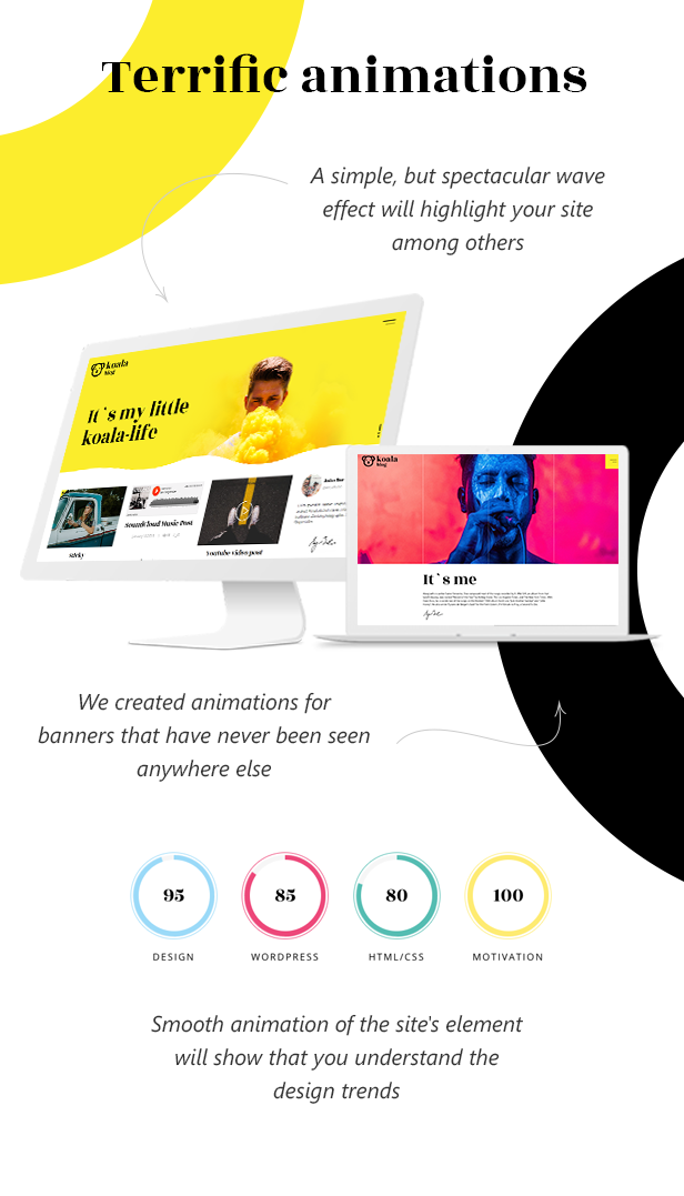 Koalogger theme  Koalogger – Simple WordPress Blogging Theme + RTL (Personal) 4