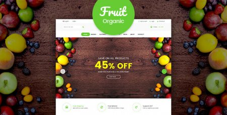 Fruitshop - Responsive WooCommerce WordPress Theme