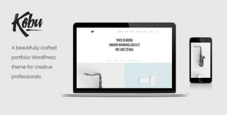 Kobu - Portfolio WordPress Theme