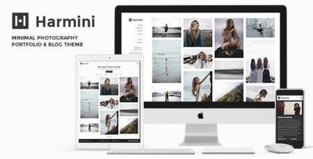 Harmini Photography - Minimal Photography WordPress