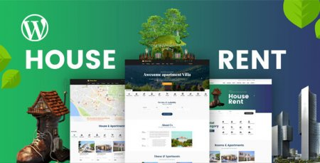 HouseRent - Multi Concept Rental WordPress Theme