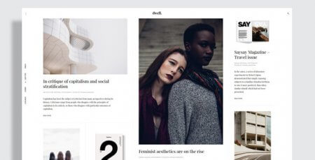 Dwell - Magazine WordPress Theme