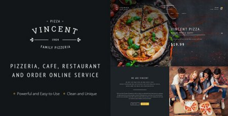 Restaurant | Vincent Restaurant and Pizza Cafe