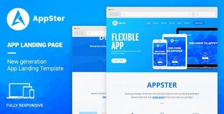 Appster - Mobile App Landing WordPress Theme