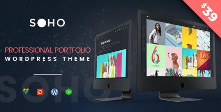 Creative Portfolio WordPress Theme - SOHO Pro
