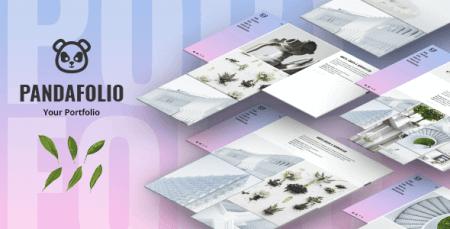 Pandafolio - Modern and Clean Portfolio WordPress Theme
