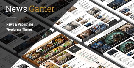 News Gamer - News/Publishing Theme