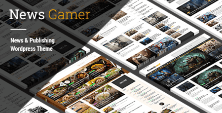 News Gamer - News/Publishing Theme