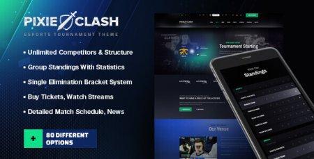 PixieClash - eSports gaming theme
