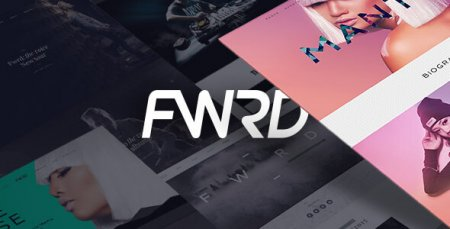 FWRD - Music Band & Musician WordPress Theme