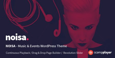Noisa - WordPress Music & Events Theme
