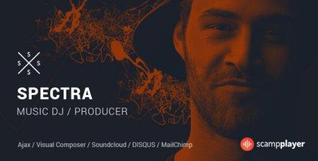 Spectra - WordPress Music & Events Theme