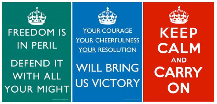 История плаката Keep Calm and Carry On