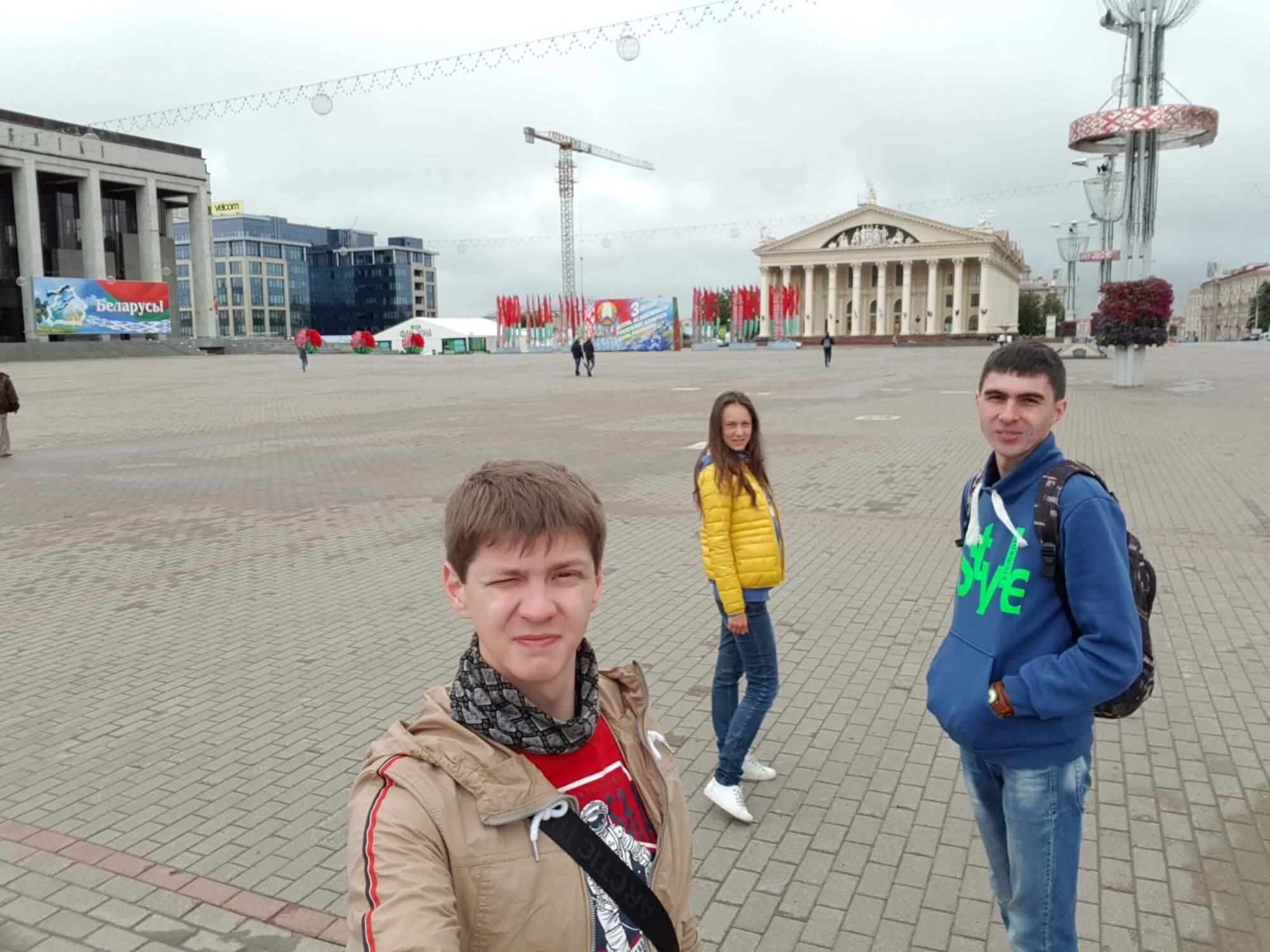 Минск в Земфире, фестиваль 21 век и впечатления от Минска